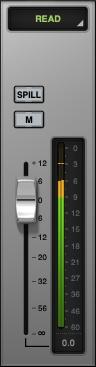 Masterfader at minus 6 dB